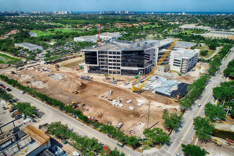 arthrex construction progress photo