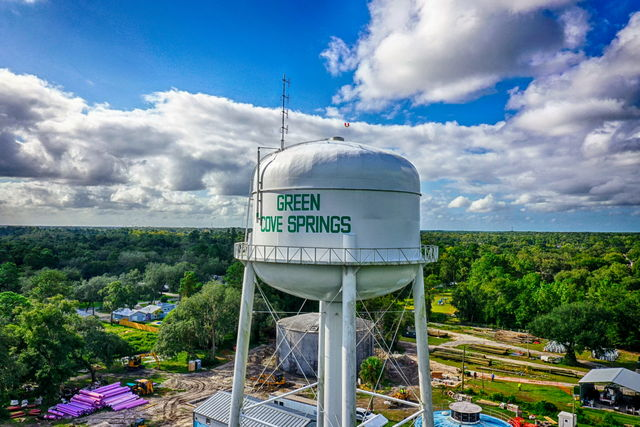 Aerial Photography Greencove Springs