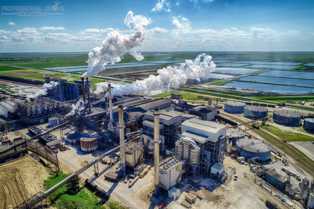 power plant inspection using drones