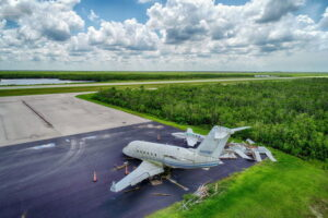 The Story of Challenger N600NP Abandoned at Marco Island Executive Airport