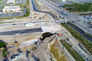 Construction on 951 Collier Boulevard and Immokalee road in Naples Florida