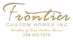 Frontier Custom Homes Logo - Residential Construction