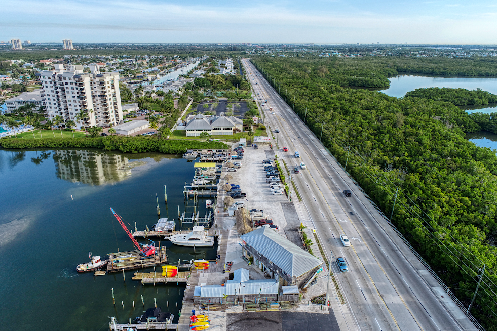 fort myers beach drone photography