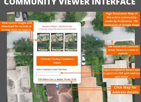 Drone Software Interface for Communities