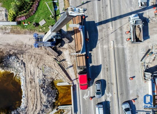 Construction Marketing Photography with Drones