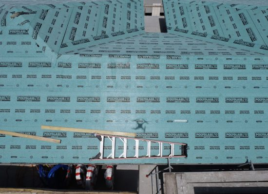 Construction Roofing Inspection Photography