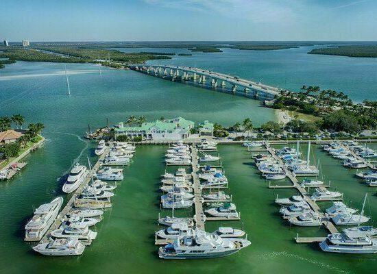 Drone Photography Marco Island Yacht Club in Marco Island Florida