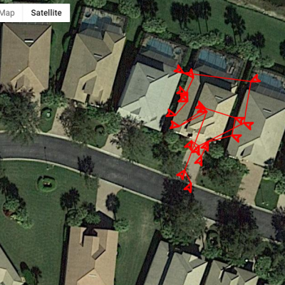 Screenshot of our roofing inspection tool